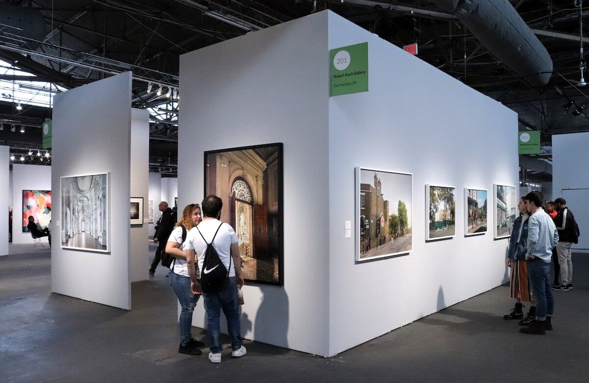Visitors to the AIPAD Photography Show at Pier 94 in 2019. Photo by Elvert Barnes, via Flickr.