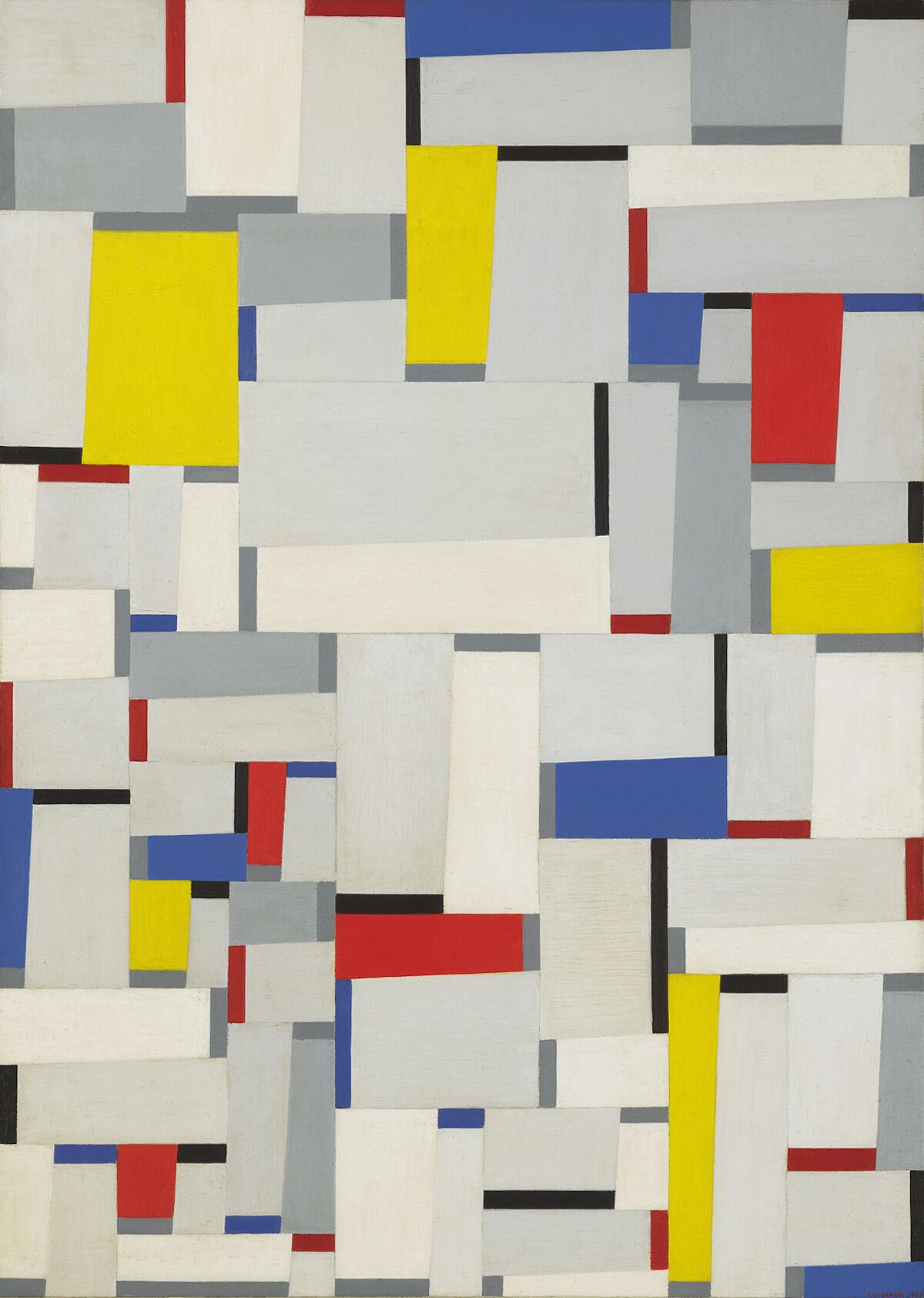 Fritz Glarner, Relational Painting No. 60, 1952. Courtesy Sotheby's.