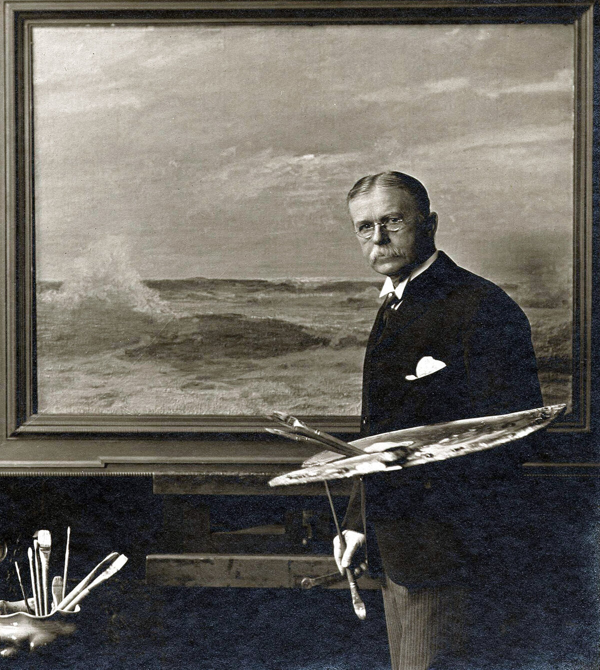 Portrait of Howard Russell Butler. Courtesy of the Princeton University Art Museum.