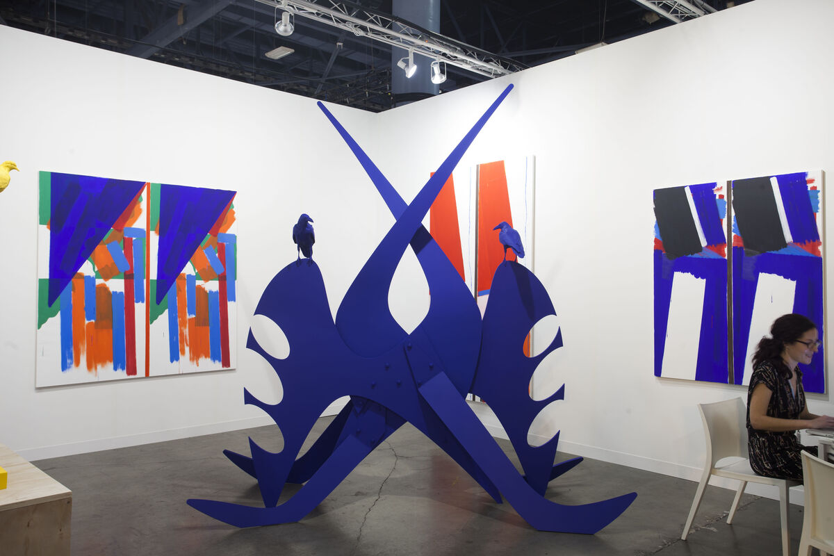 Installation view of Cherry and Martin's booth at Art Basel in Miami Beach, 2015.Photo byOriol Tarridas for Artsy.