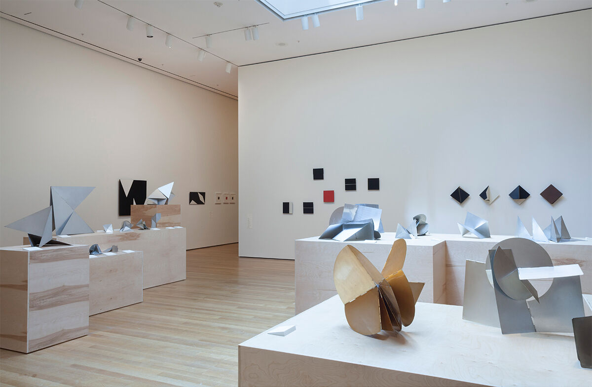 "Installation view of ""Lygia Clark: The Abandonment of Art, 1948–1988"" at MoMA, 2014. © The Museum of Modern Art. Photo by Thomas Griesel. Licensed by SCALA / Art Resource, NY and ""The World of Lygia Clark"" Cultural Association."