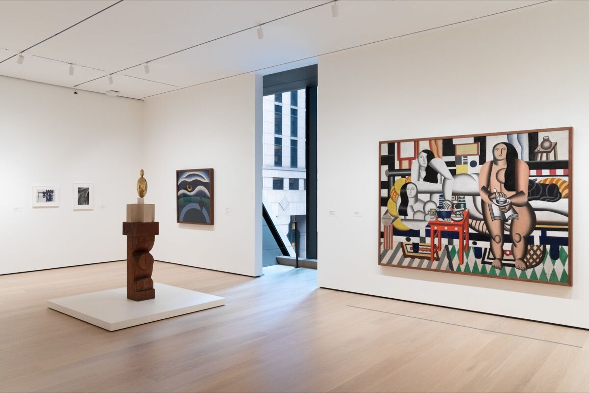 Installation view of, Paris 1920s (Gallery 514), at The Museum of Modern Art, New York. Photo by Jonathan Muzikar. © 2019 The Museum of Modern Art.