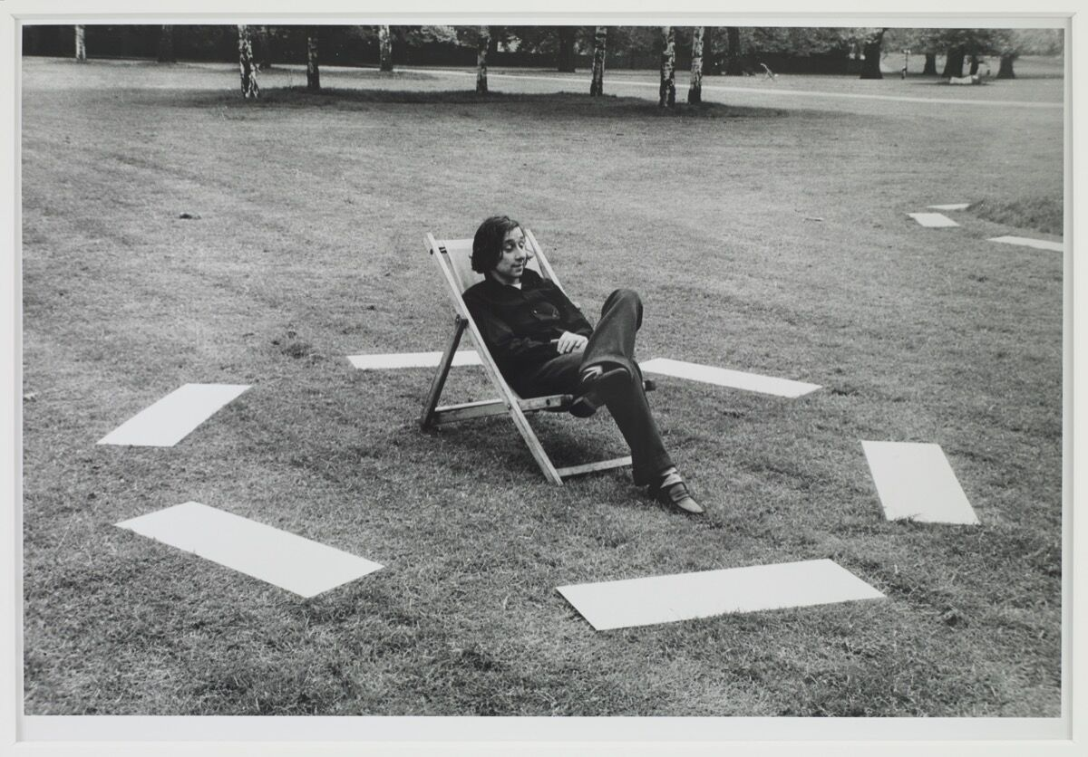 David Lamelas, Signaling of Three Objects, 1968. © David Lamelas. Courtesy of the artist and Sprüth Magers.