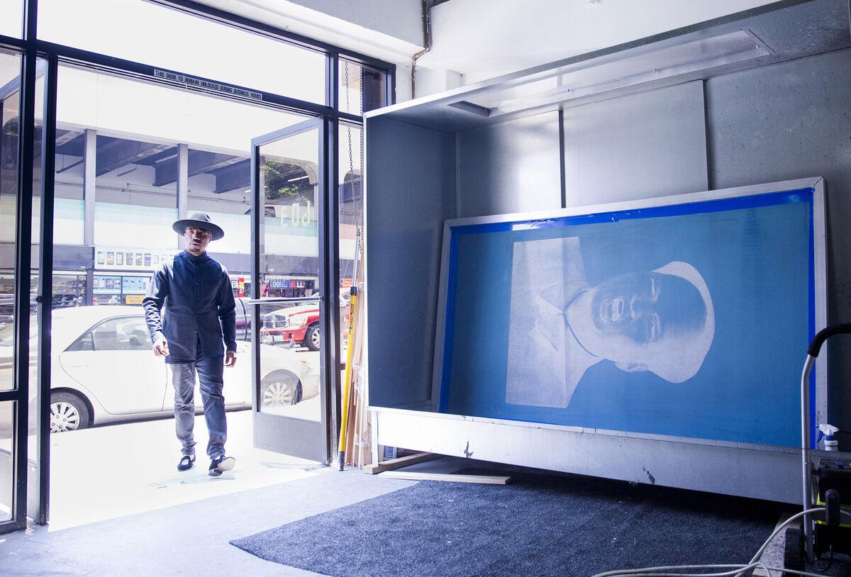 Knowledge Bennett studio, Los Angeles, 2016, courtesy of Julien's Auctions.