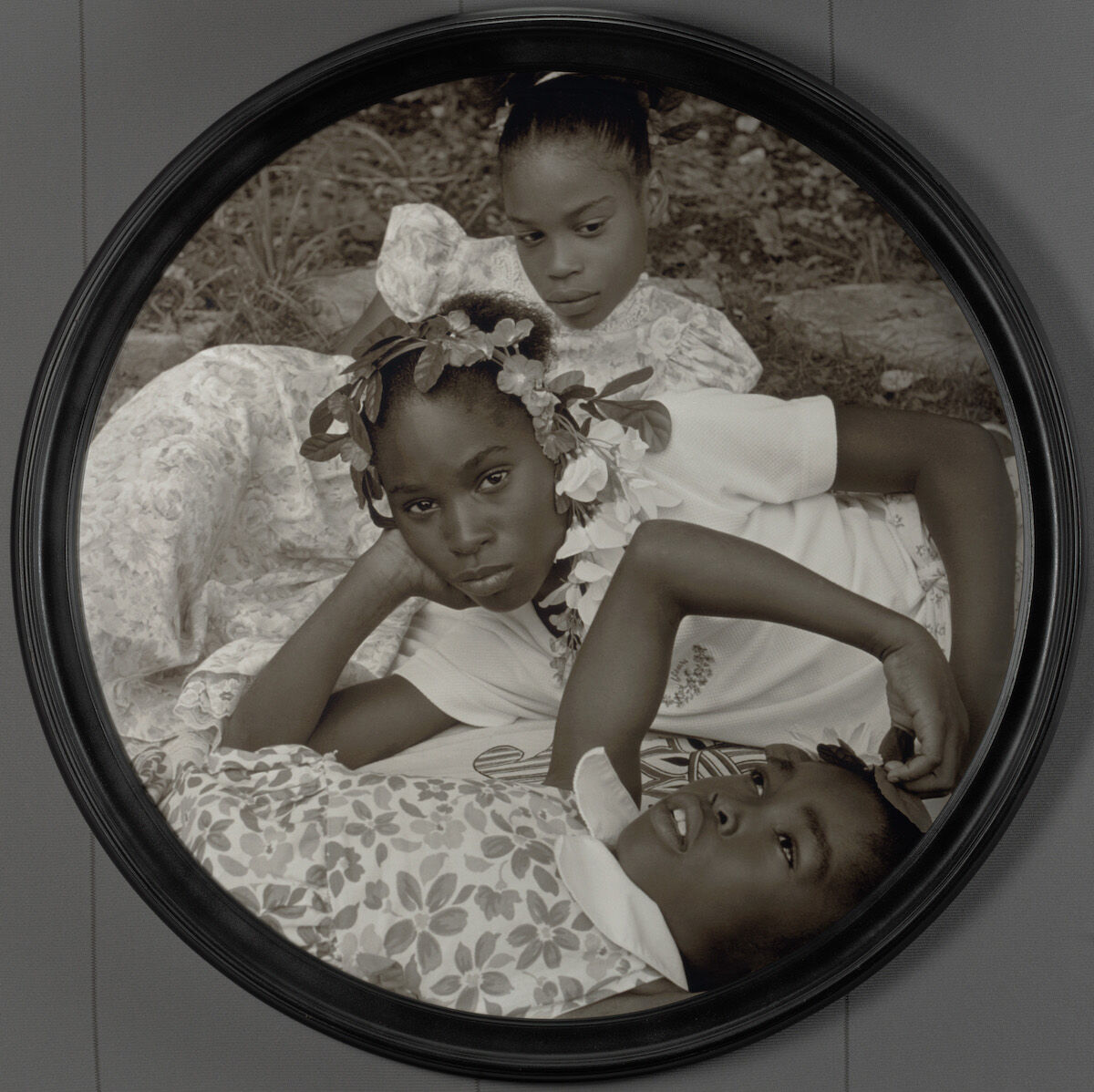 Carrie Mae Weems, May Flowers, 2002. The Baltimore Museum of Art: Purchase with exchange funds from the Pearlstone Family Fund and partial gift of The Andy Warhol Foundation for the Visual Arts, Inc. © Carrie Mae Weems.