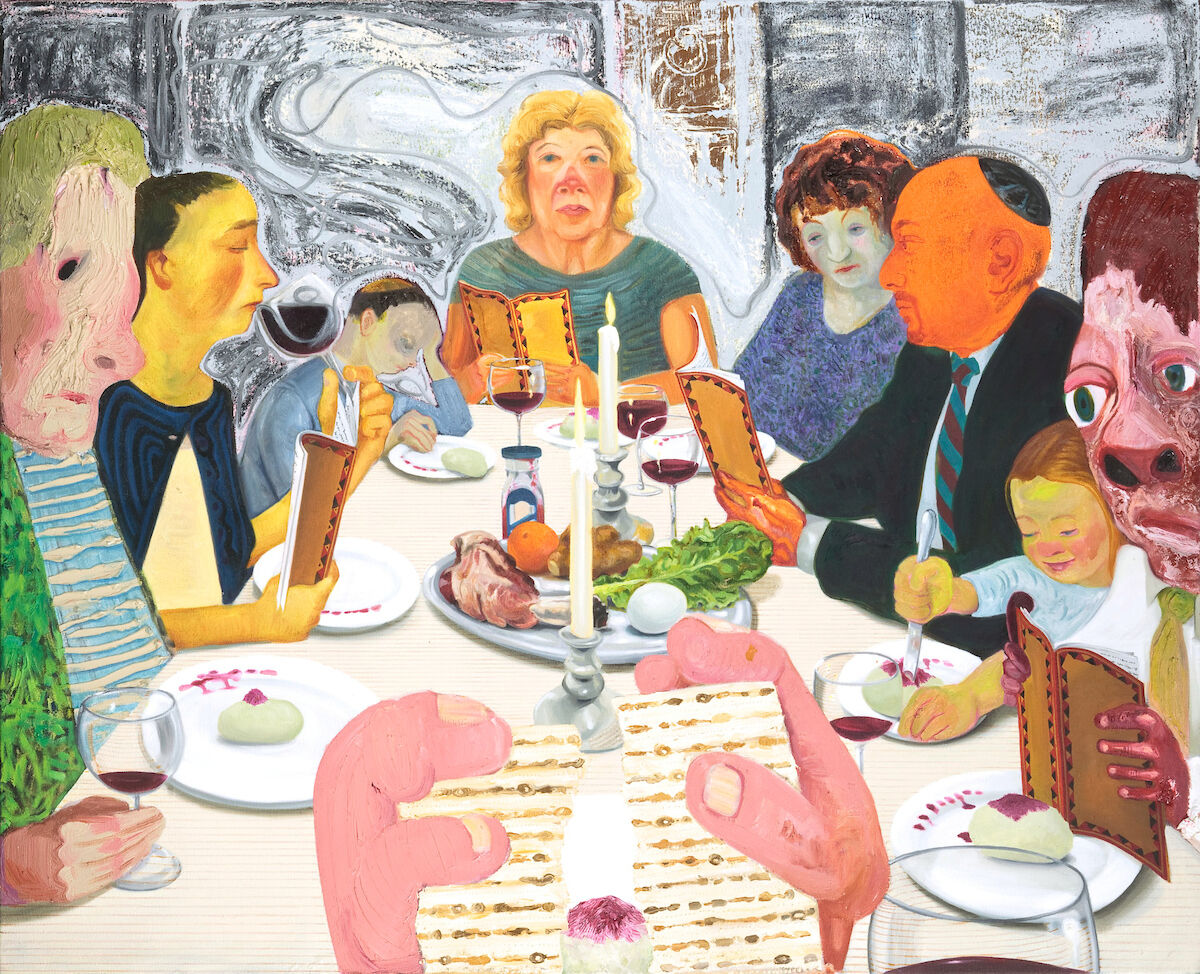 Nicole Eisenman, Seder, 2010. © Nicole Eisenman. Courtesy of the Jewish Museum.