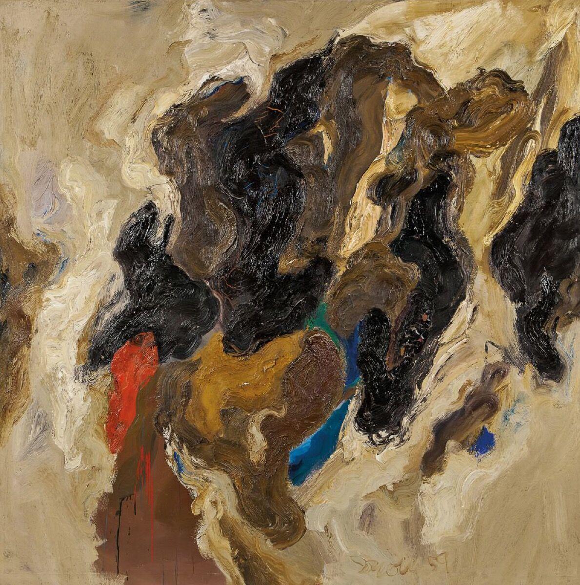 Robert Irwin, Daisetz, 1959. Courtesy of Kasmin Gallery.