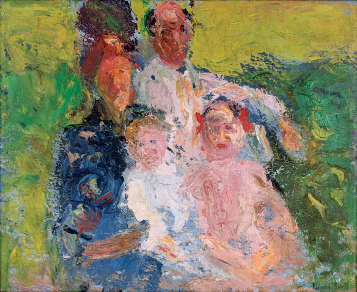 Gerstl, The Schönberg Family, 1908. Courtesy of MoMOK, Vienna.