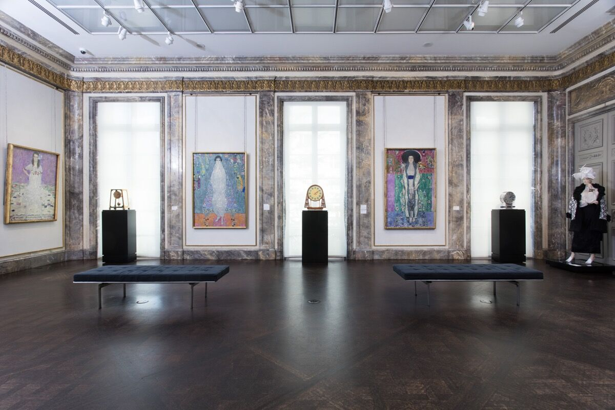 "Installation view of ""Klit and the Women of Vienna's Golden Age, 1900-1918,"" courtesy of Neue Galerie."