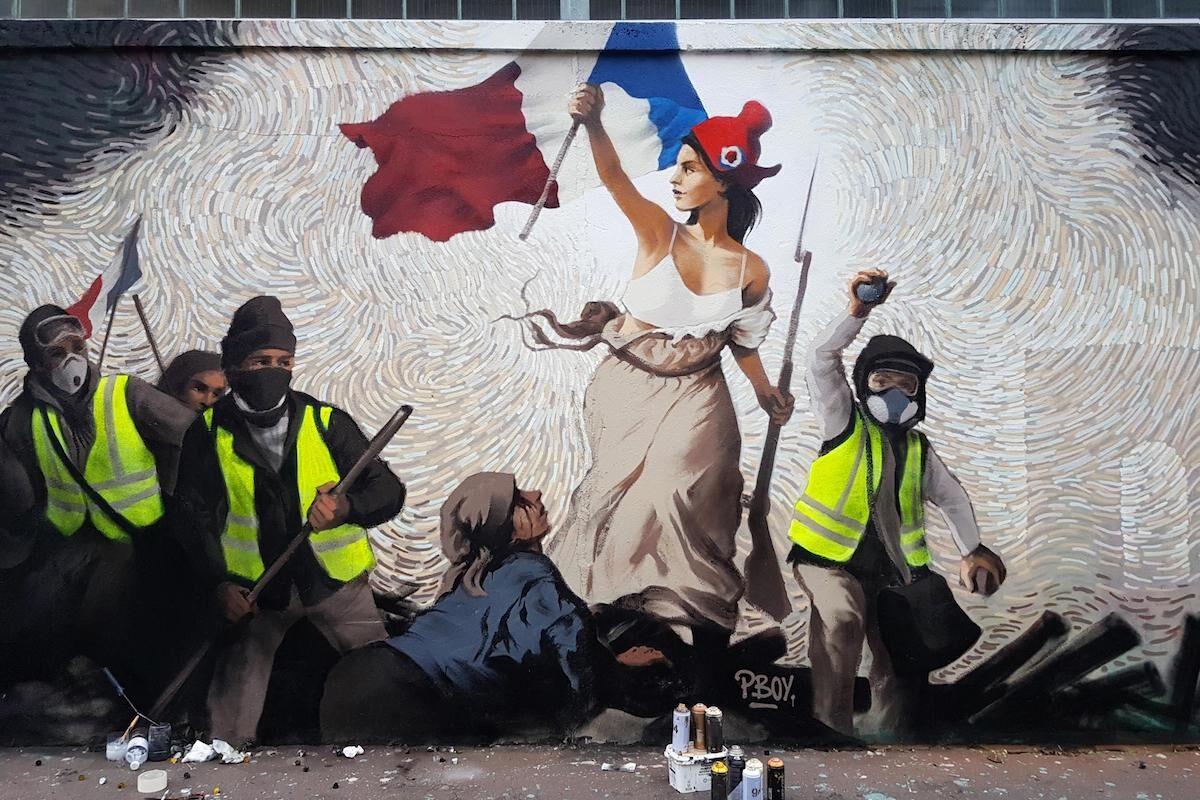 A new mural by Pascal Boyart in Paris. Photo courtesy Pascal Boyart.