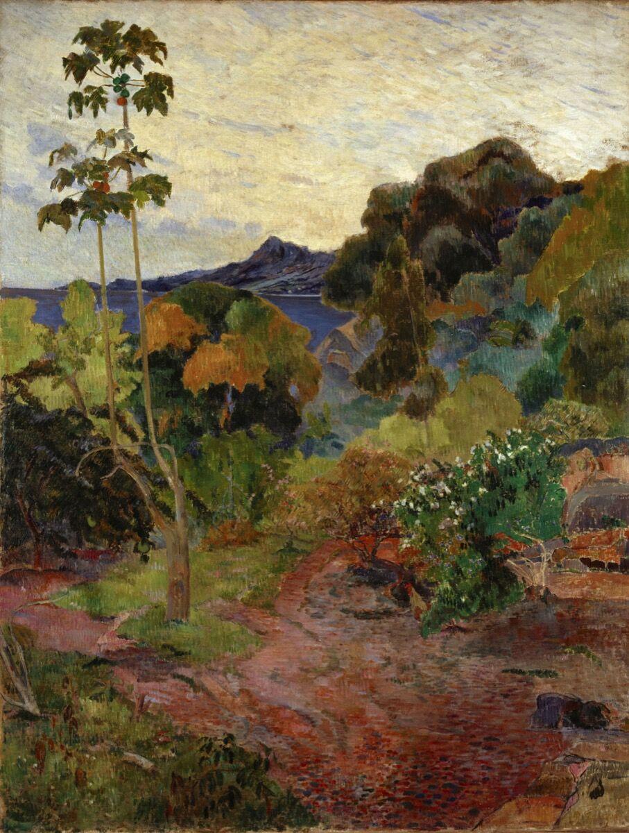 Paul Gauguin, Martinique Landscape, 1887. Courtesy of the Van Gogh Museum, Amsterdam.