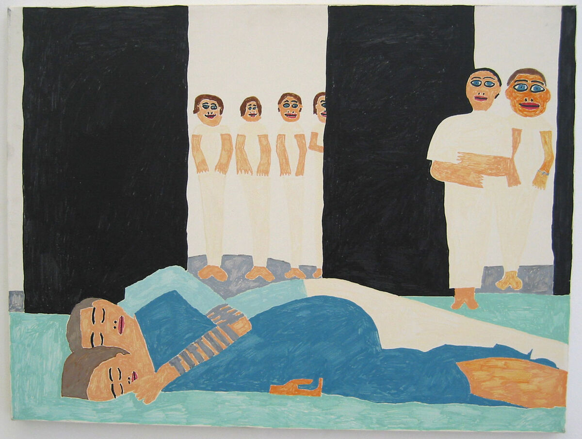 Christopher Knowles, Parzival #12, 1989. Courtesy of the artist and the Institute of Contemporary Art University of Pennsylvania.