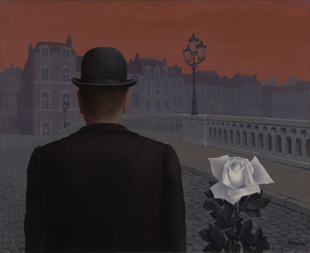 René Magritte, La boîte de Pandore (Pandora's box), 1951. Courtesy of Yale University Art Gallery.