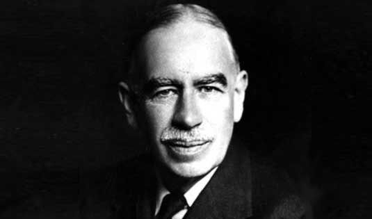 John Maynard Keynes. Image via Wikimedia Commons.