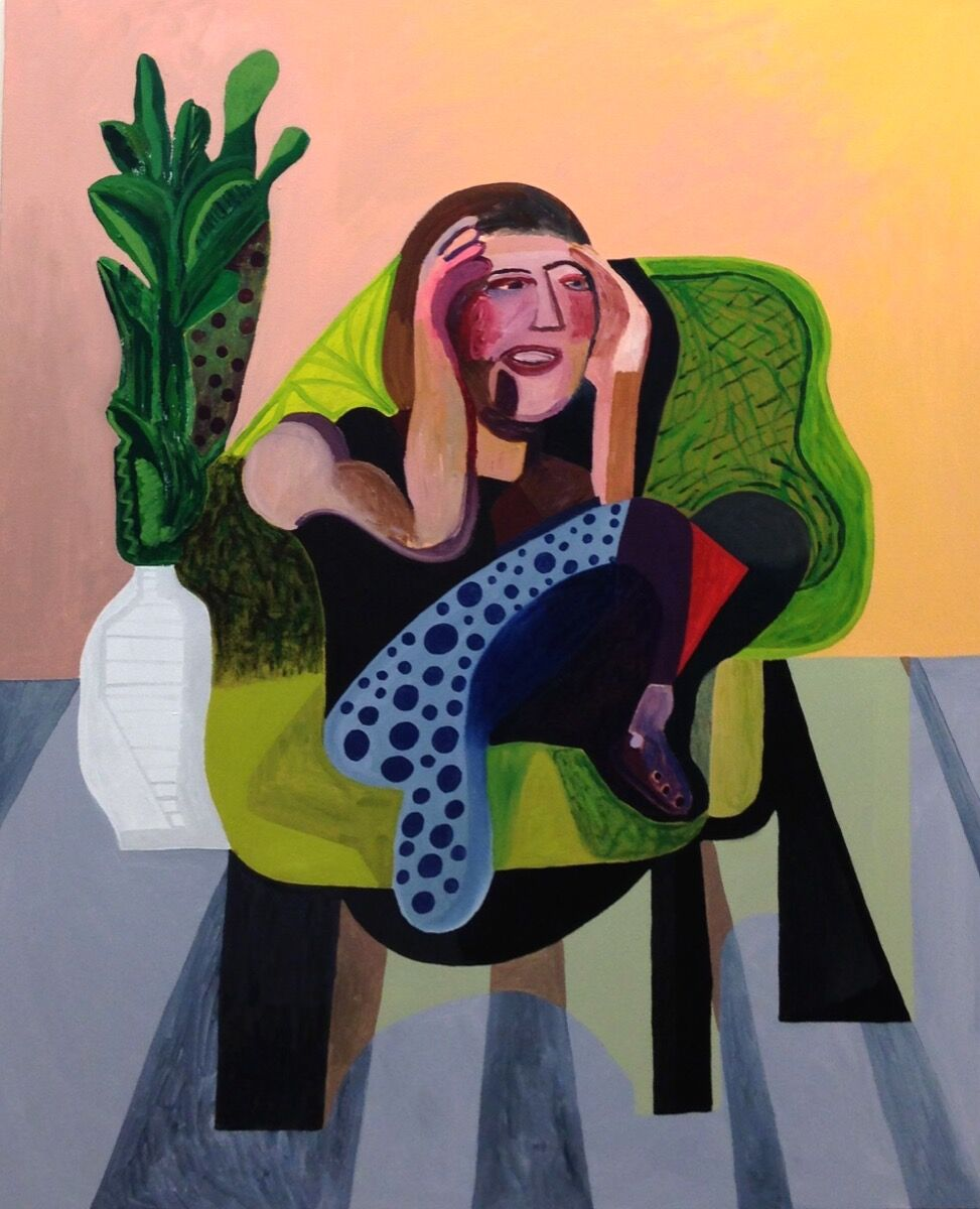 Alex Bradley Cohen, Liz Harney, 2017. Courtesy of Nicelle Beauchene Gallery.