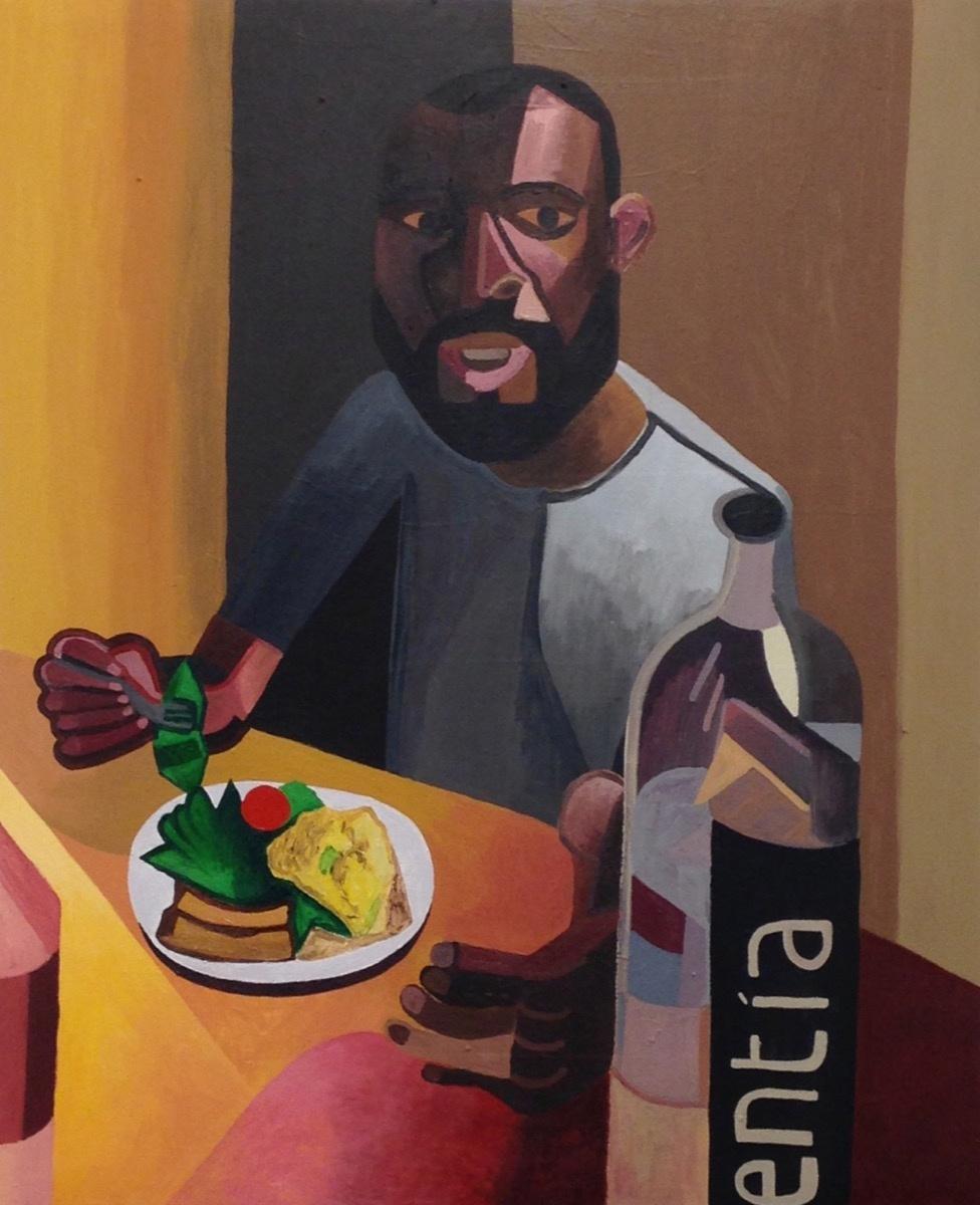 Alex Bradley Cohen, Paul Anthony Smith, 2017. Courtesy of Nicelle Beauchene Gallery.