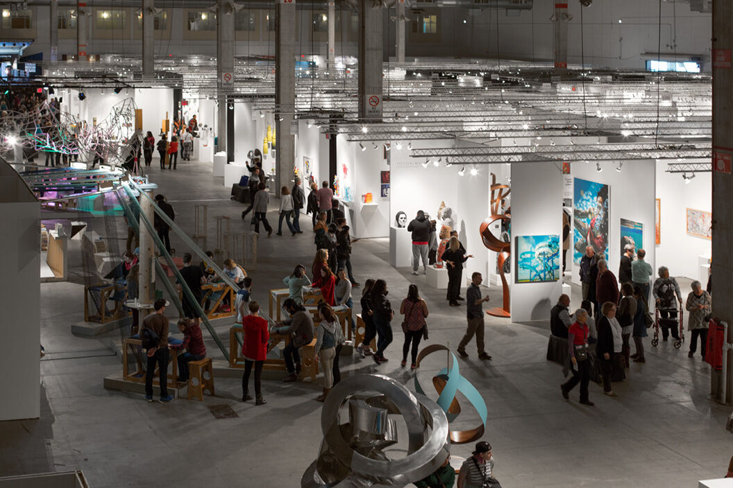 Top galleries and major works of art to explore at sofa for Best art galleries in the world