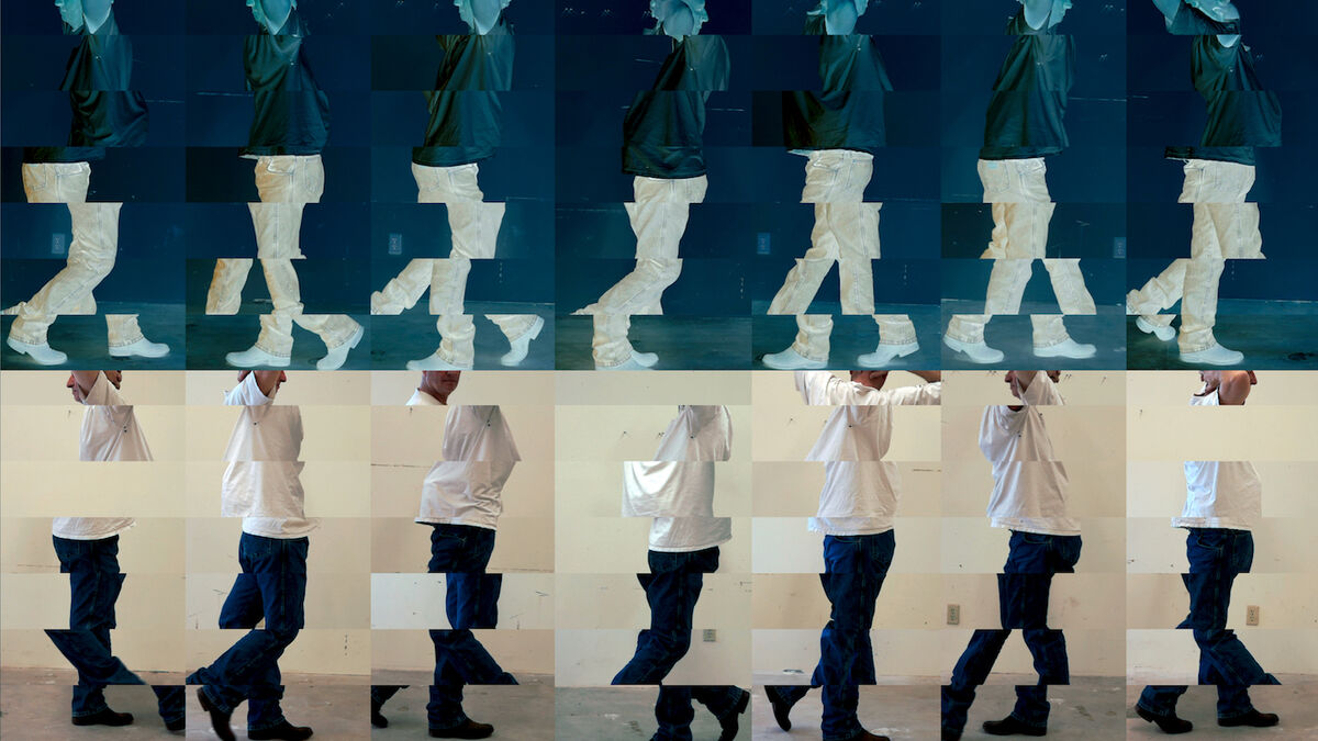 Bruce Nauman, Contrapposto Studies, i through vii. 2015/16. © 2018 Bruce Nauman/Artists Rights Society (ARS), New York. Photo courtesy of the artist and Sperone Westwater, New York.