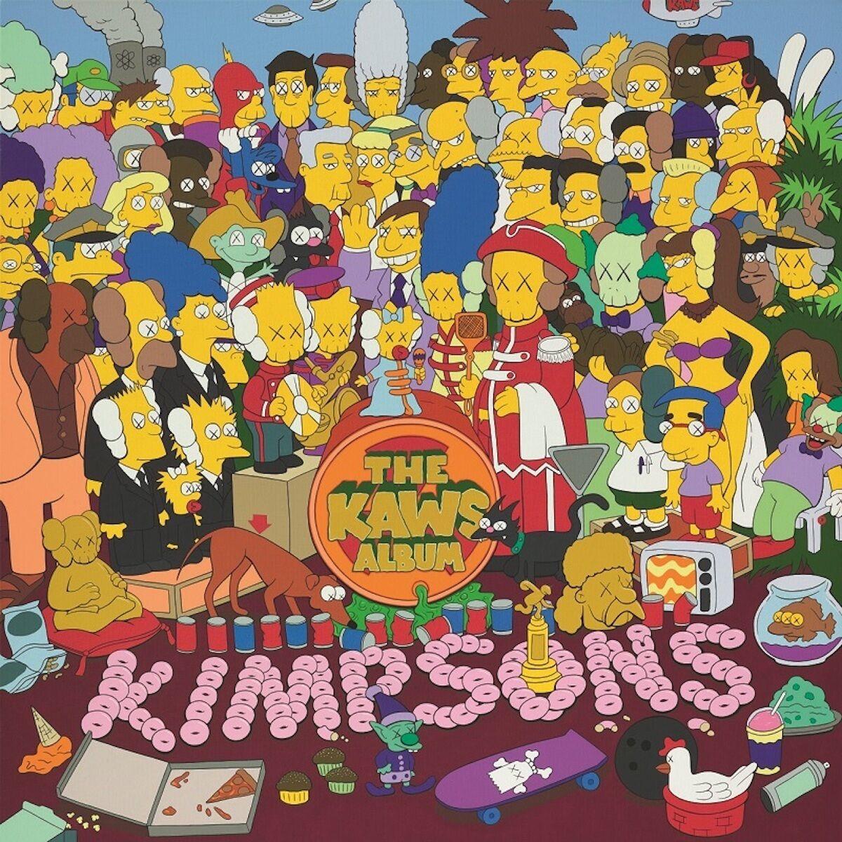 KAWS, The KAWS Album, 2005. Sold for $HK 116 million ($US 14.8 million). Courtesy Sotheby's.