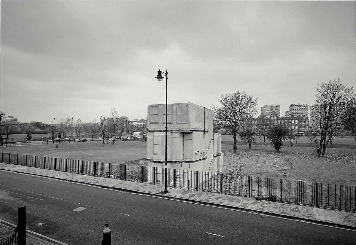 House, Rachel Whiteread, 1992. An Artangel commission. Photo by John Davies.