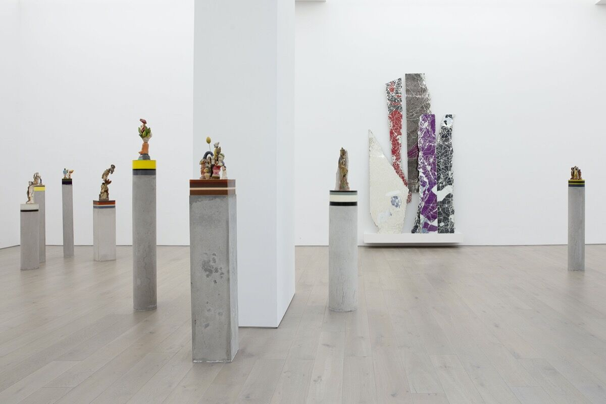 "Bharti Kher, installation view of ""The Unexpected Freedom of Chaos"" at Perrotin, New York, 2020. Photo by Guillaume Ziccarelli. Courtesy of the artist and Perrotin."