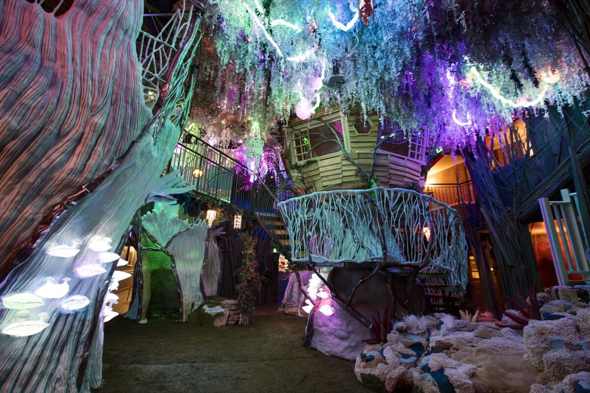 Installation view of Meow Wolf, House of Eternal Return, Santa Fe. Photo by Kate Russell. Courtesy of www.meowwolf.com.