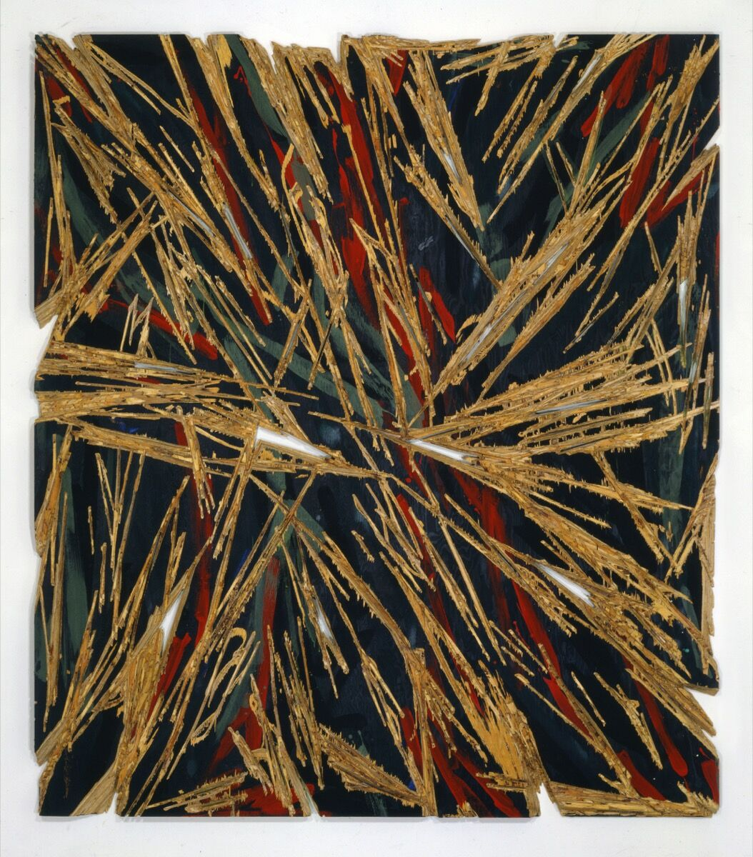 Charles Arnoldi, For Beauty Passed Away, 1982. Courtesy of the artist.