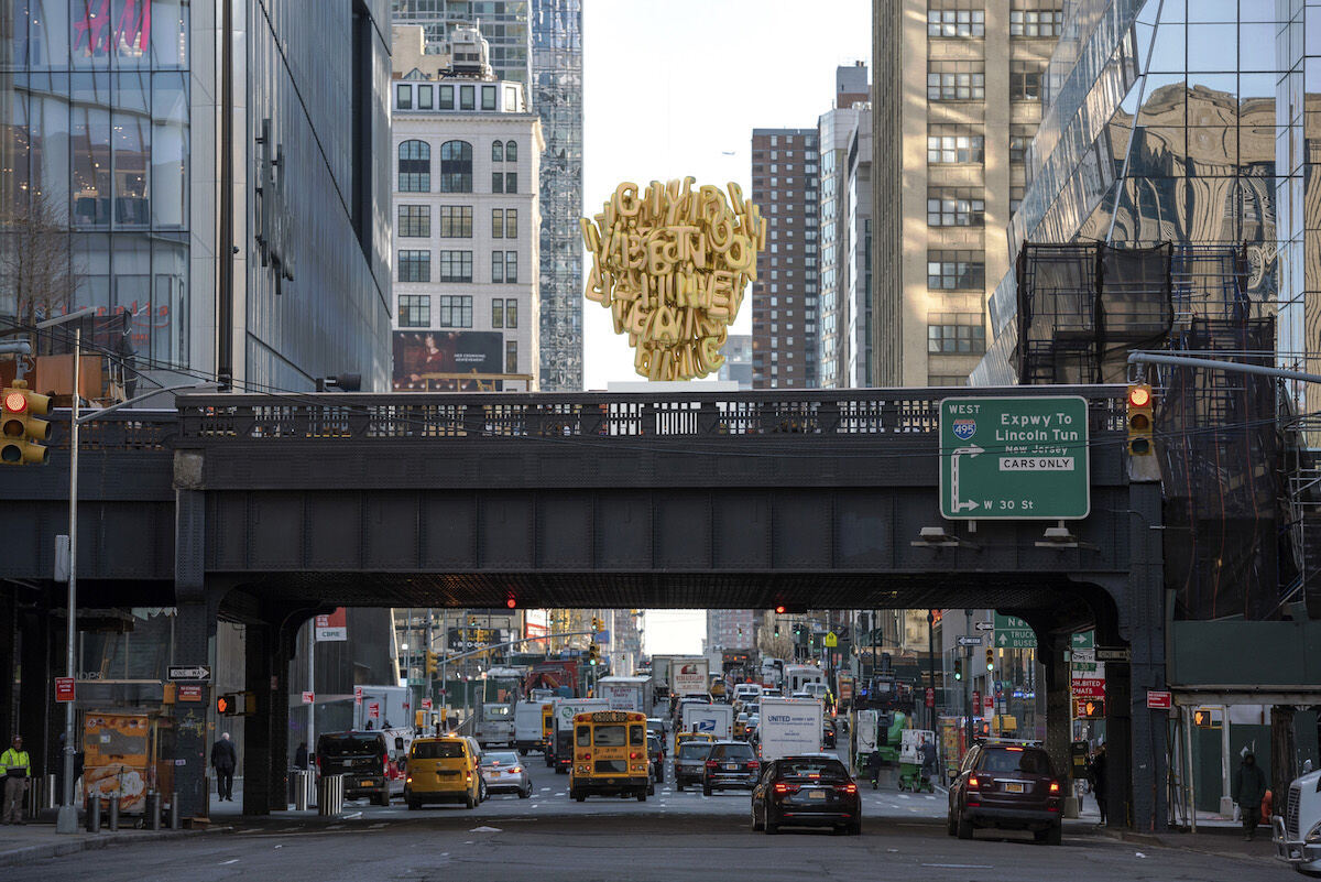 Banu Cennetoğlu, rendering of right?. Courtesy the artist and High Line Art.