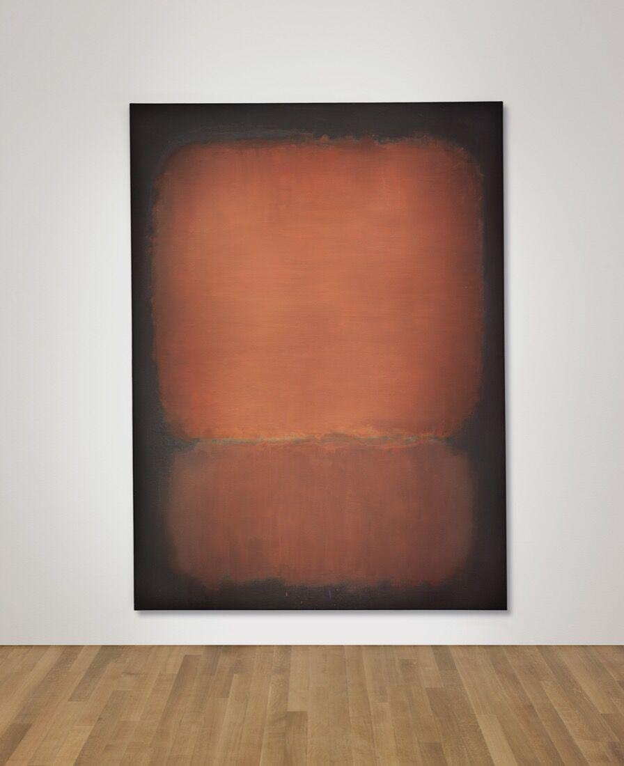 Mark Rothko, No. 10, 1958. Price Realized: $81,925,000. Courtesy of Christie's Images ltd. 2015.
