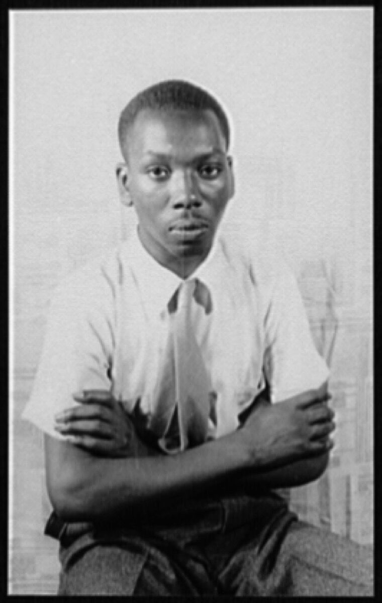 Carl van Vechten, Portrait of Jacob Lawrence, 1941. Courtesy of the Library of Congress.