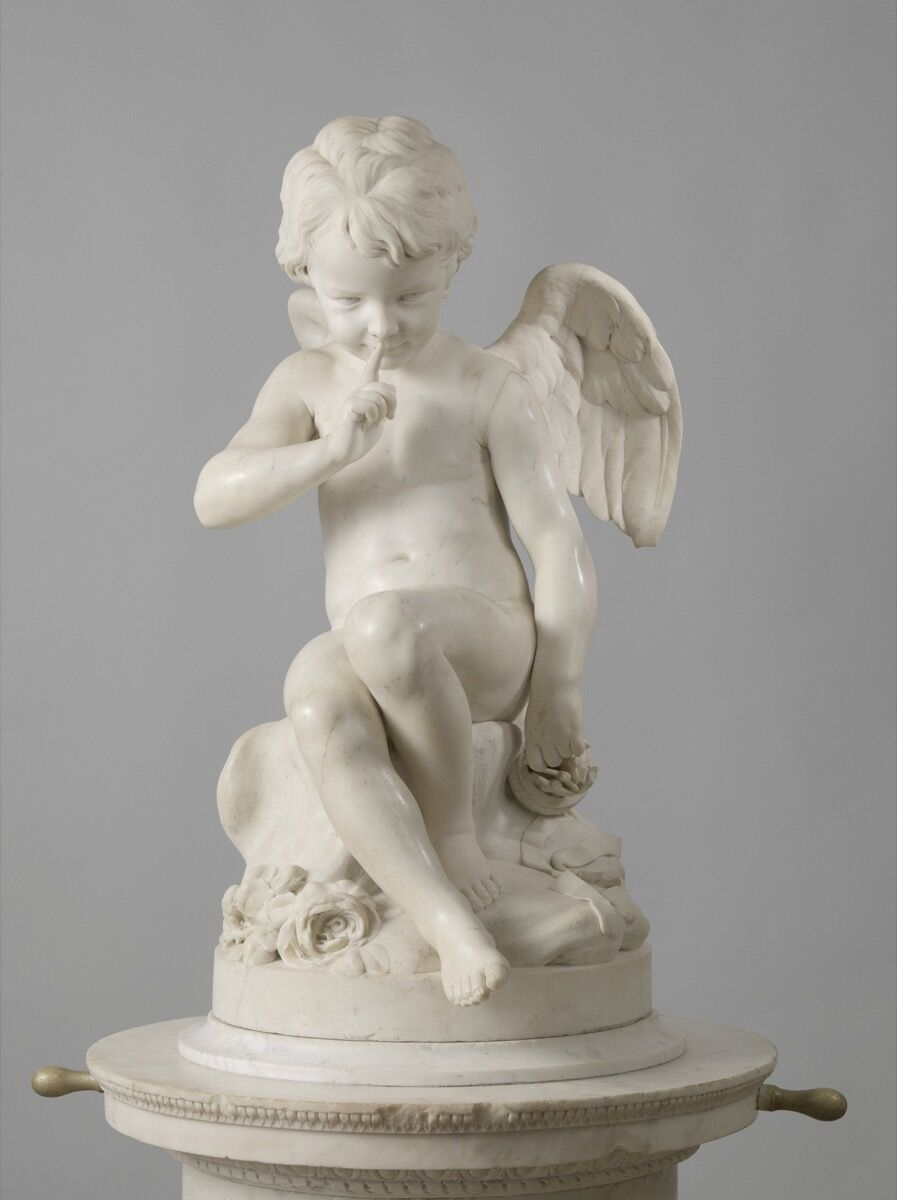 Étienne-Maurice Falconet, Seated Cupid, 1757. Courtesy of the Rijksmuseum.