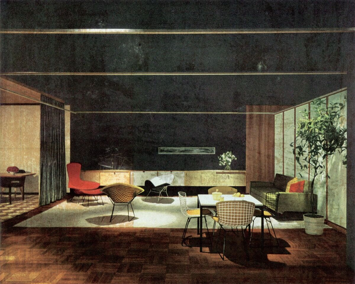 Knoll Showroom in Chicago, Illinois, 1953. Courtesy of Knoll, Inc.