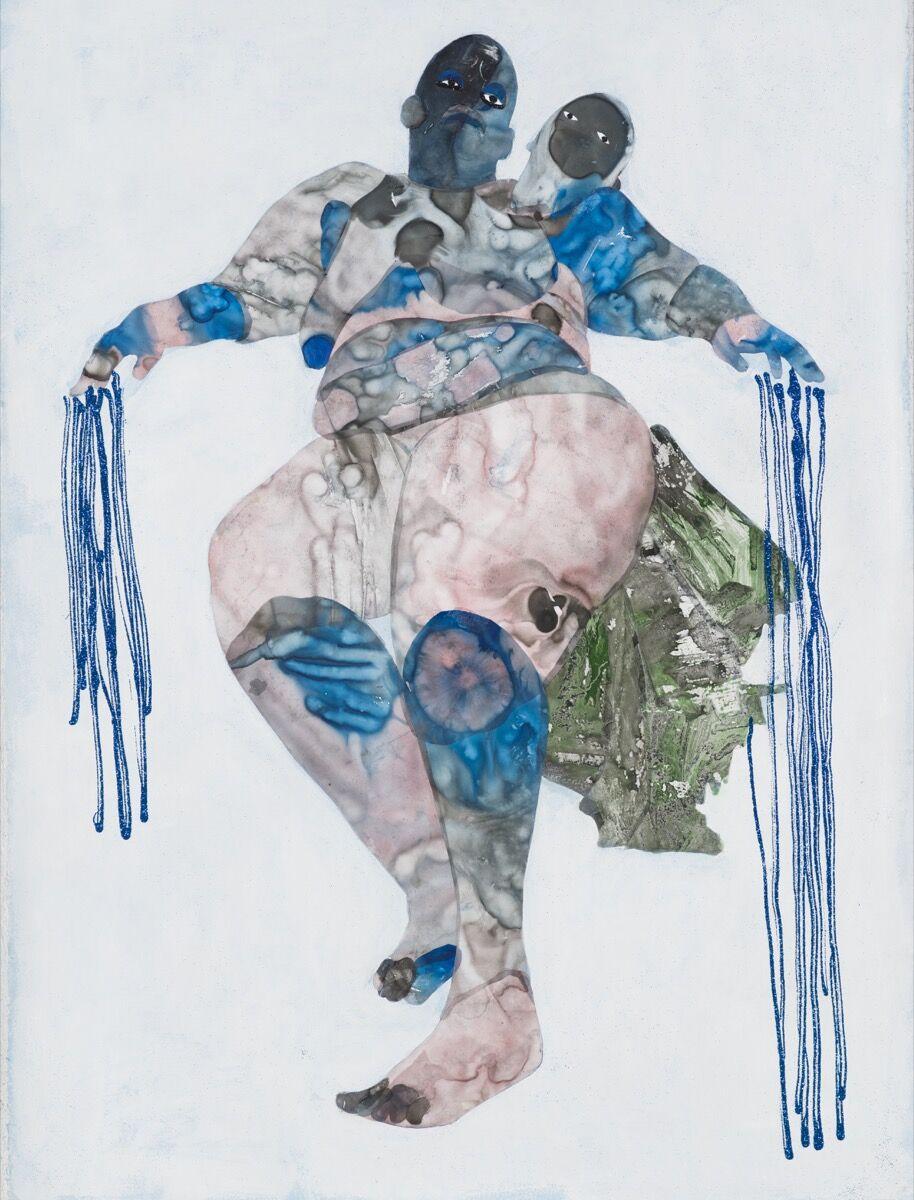 Florine Demosthene, Untitled Wound #2, 2018. © Florine Demosthene. Courtesy of Gallery 1957, Accra.