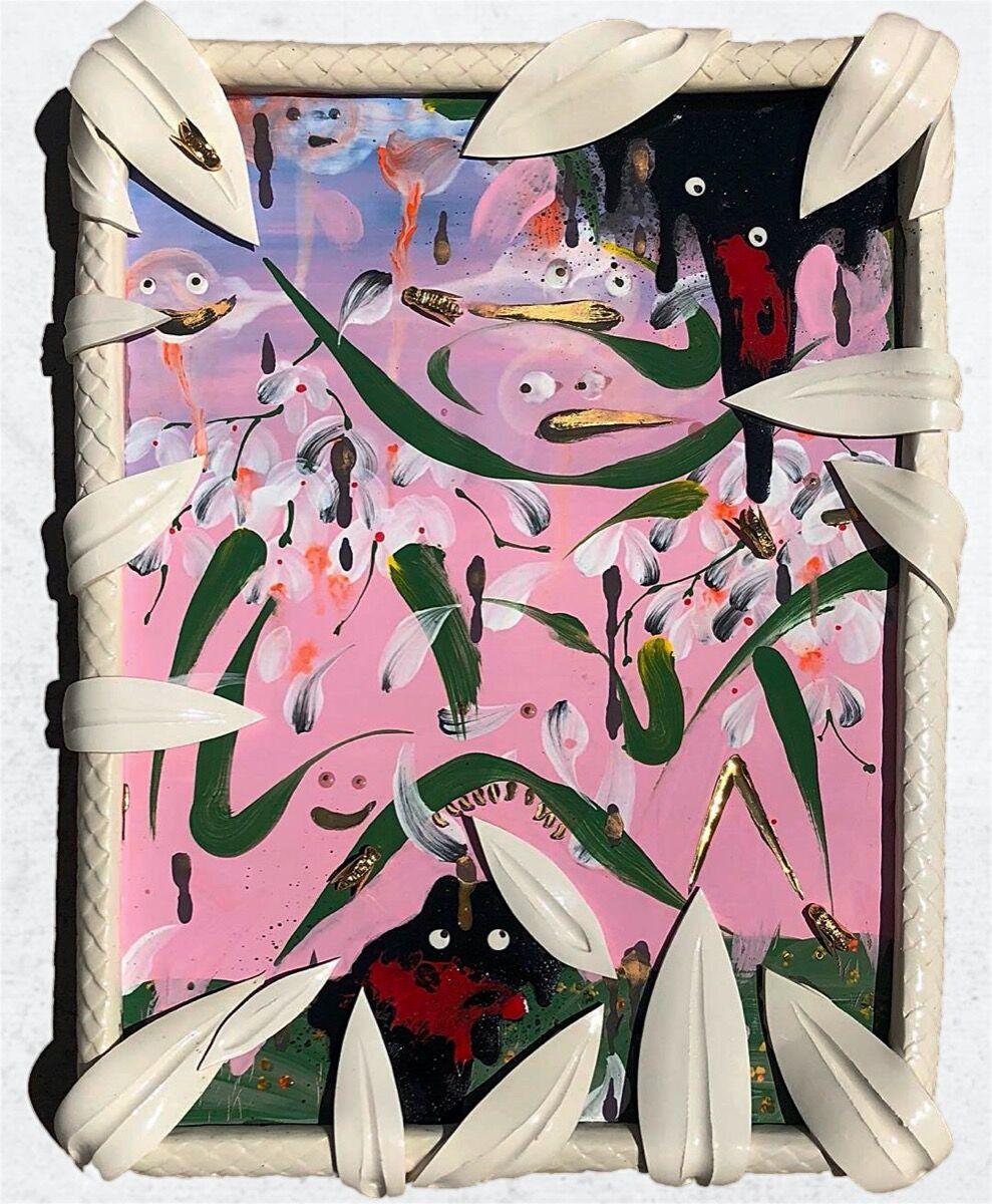 Alex Anderson, Stains on a Pretty Landscape III, 2020. Courtesy of Gavlak.