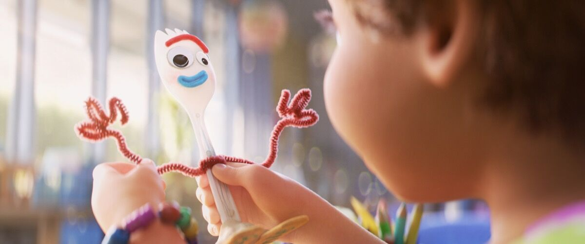 What Toy Story 4 S Forky Can Teach Kids About Making Art Artsy