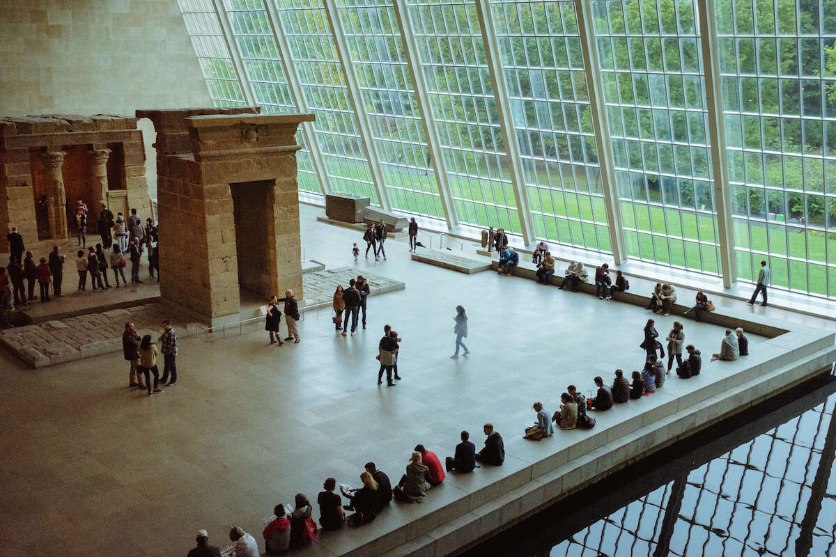 The Sackler Wing at the Metropolitan Museum of Art. Photo by Erwin Verb