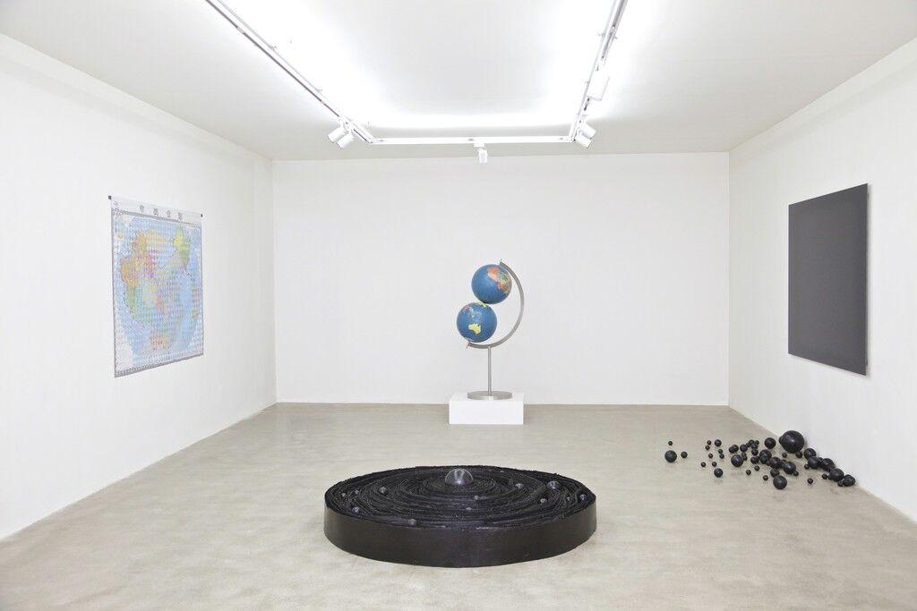 "Installation view of ""Zhou Wendou: BORDERLESS,"" courtesy of De Sarthe Gallery"