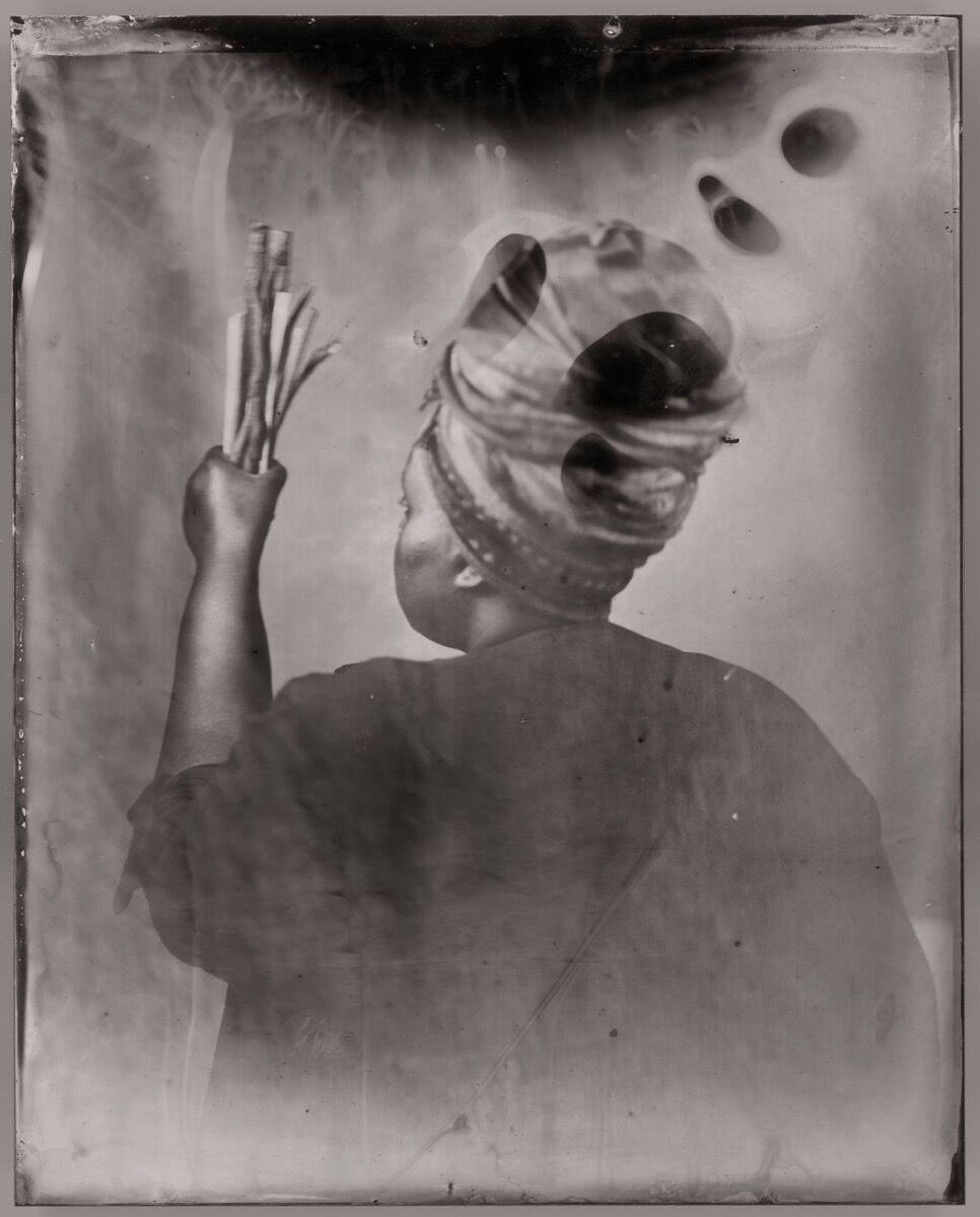 Khadija Saye Sothiou, 2017. Courtesy of Jealous gallery, The Studio of Nicola Green, and Tate Britain.