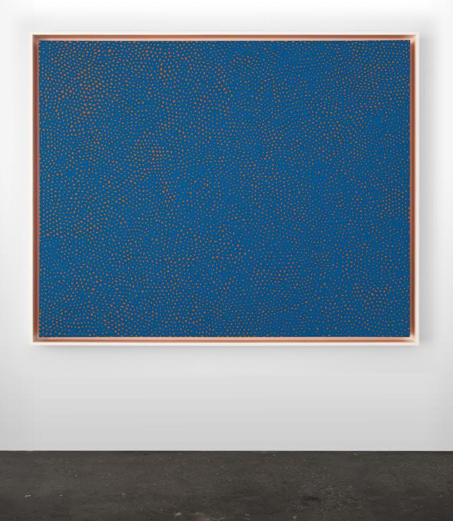 Installation view ofYayoi Kusama,Infinity-Nets (RBKT), 2014, courtesy the artist and Casterline | Goodman Gallery