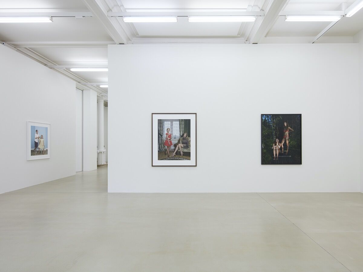 Rineke Dijkstra, installation view at Marian Goodman Gallery, London, 2020. © Rineke Dijkstra. Courtesy of the artist and Marian Goodman Gallery, New York/Paris/London.