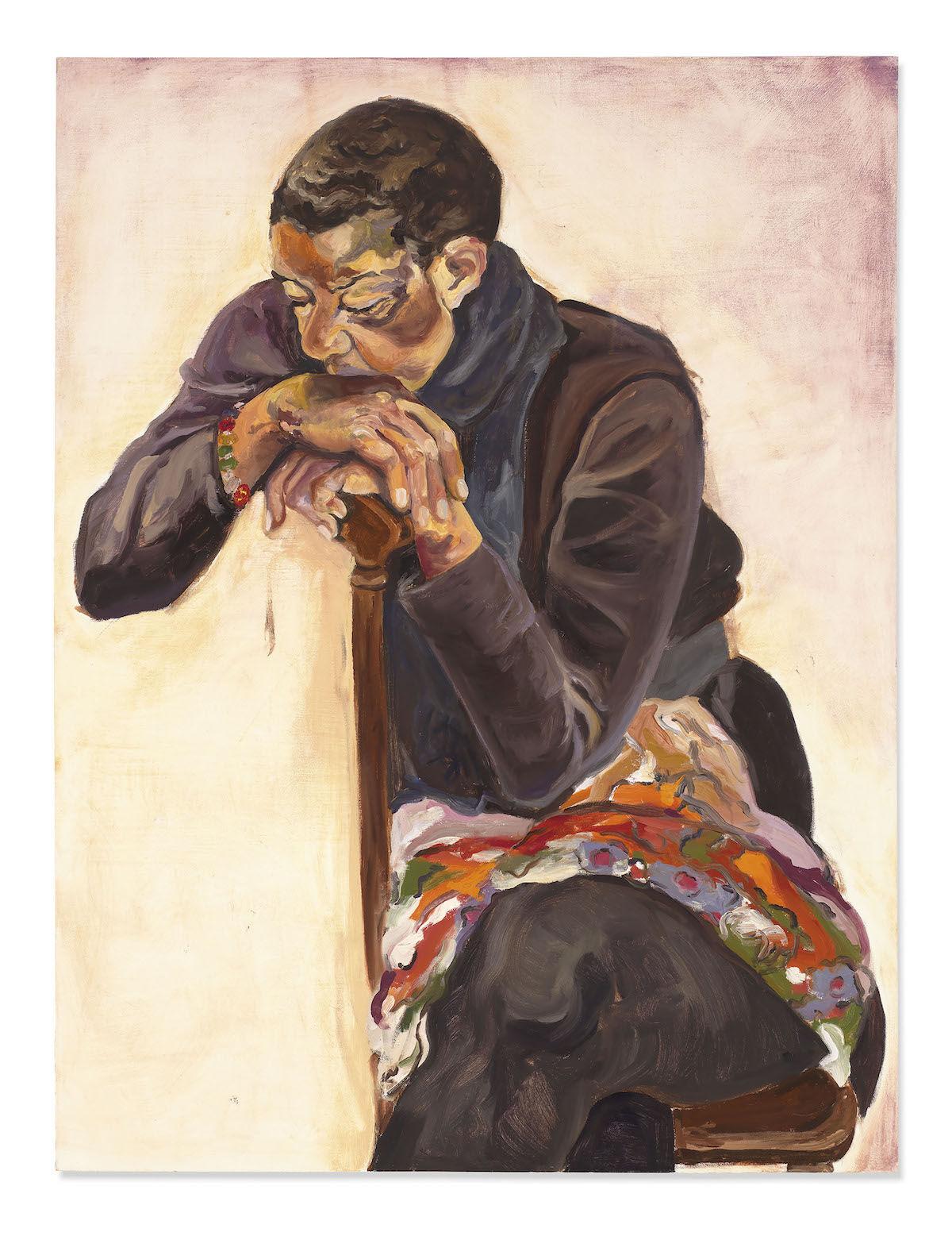 Jordan Casteel, Mom, 2013. Sold for £515,250 ($666,). © Christie's Images Limited 2020.