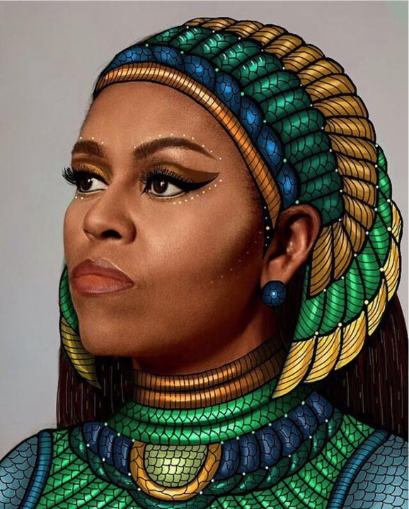 Gelila Mesfin's artwork, via Instagram.