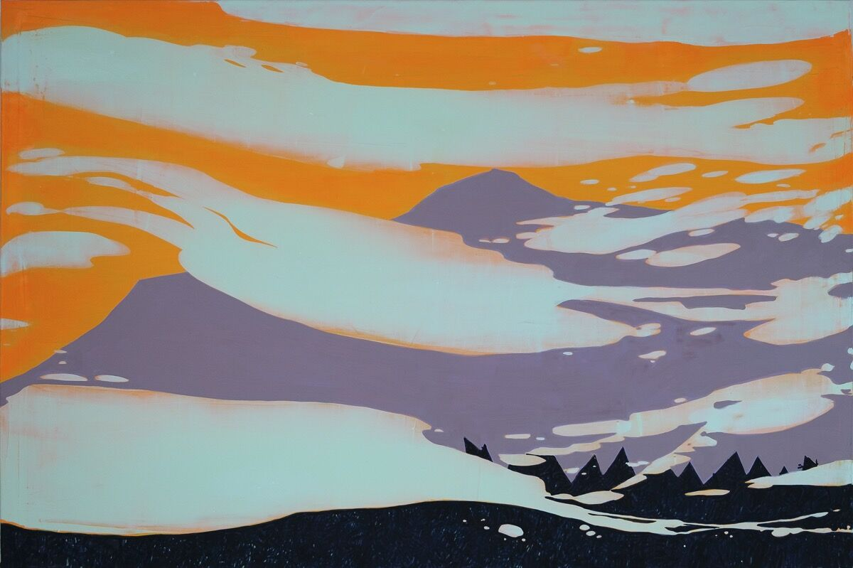 Hope Gangloff, Weather on Mt. Monadnock, 2019. Courtesy of the artist and Susan Inglett Gallery, New York.