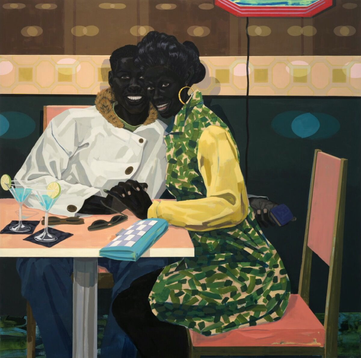 Kerry James Marshall, Untitled (Club Couple), 2014. Courtesy of the artist and HBO.
