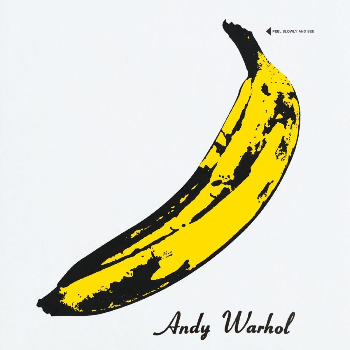 Andy Warhol's cover for The Velvet Underground and Nico by The Velvet Underground and Nico, 1967. Courtesy of TASCHEN.