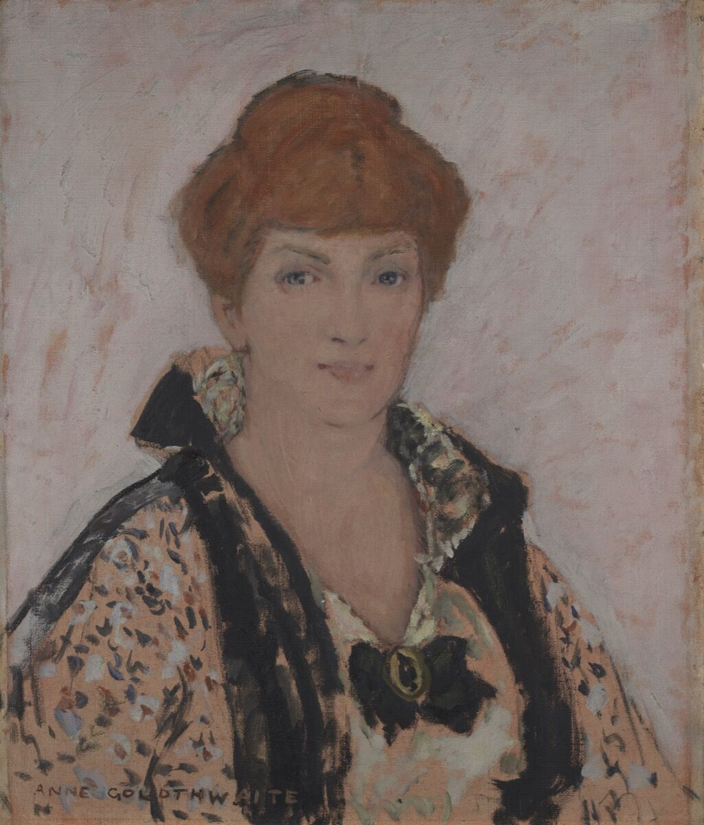 Anne Goldthwaite, Portrait of Katherine Sophie Dreier, 1915-1916. Courtesy of Yale University Art Gallery