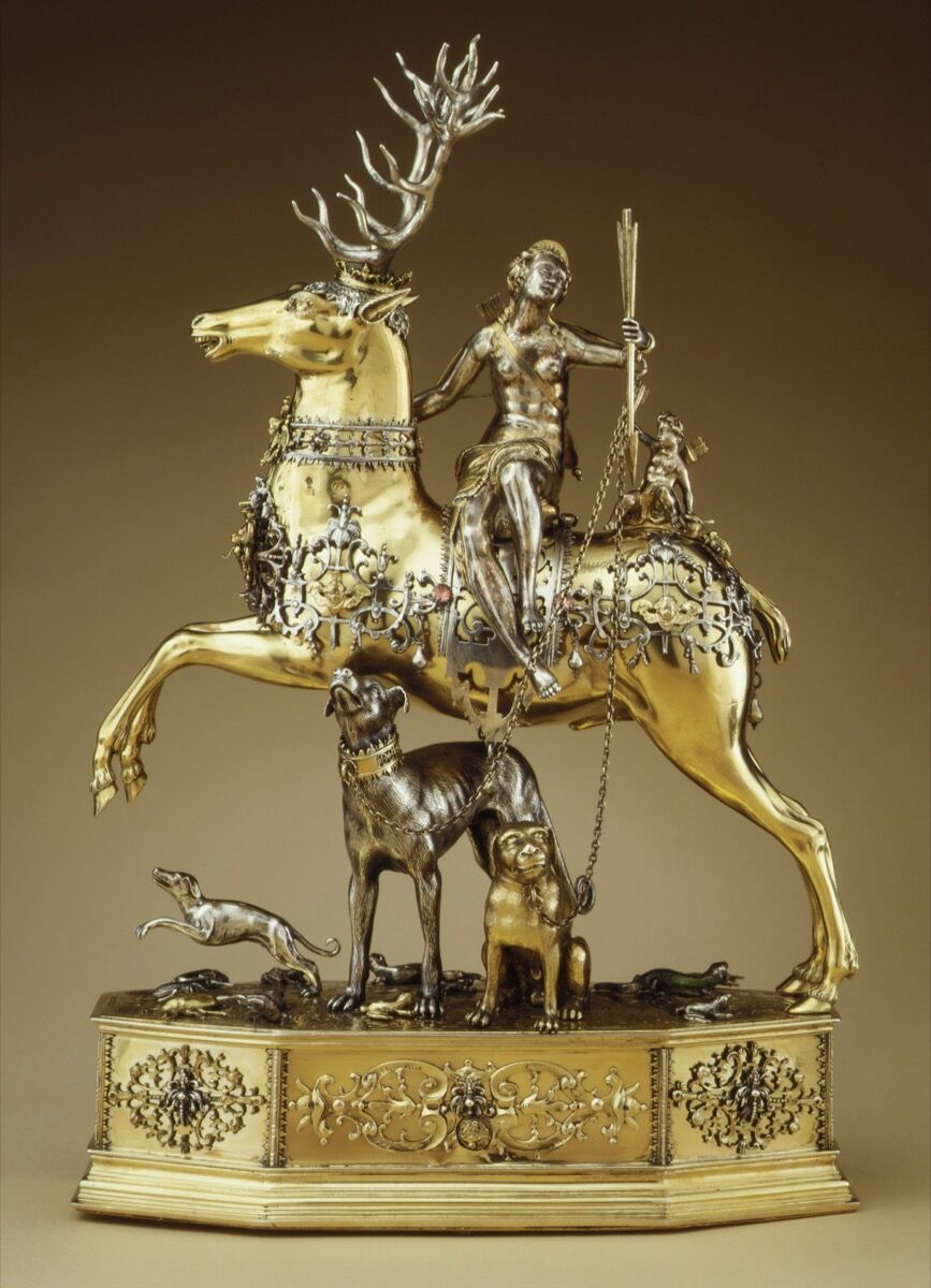 Diana and the Stag, German, ca. 1620. Gift of J. Pierpont Morgan, 1917. Courtesy of the Metropolitan Museum of Art.