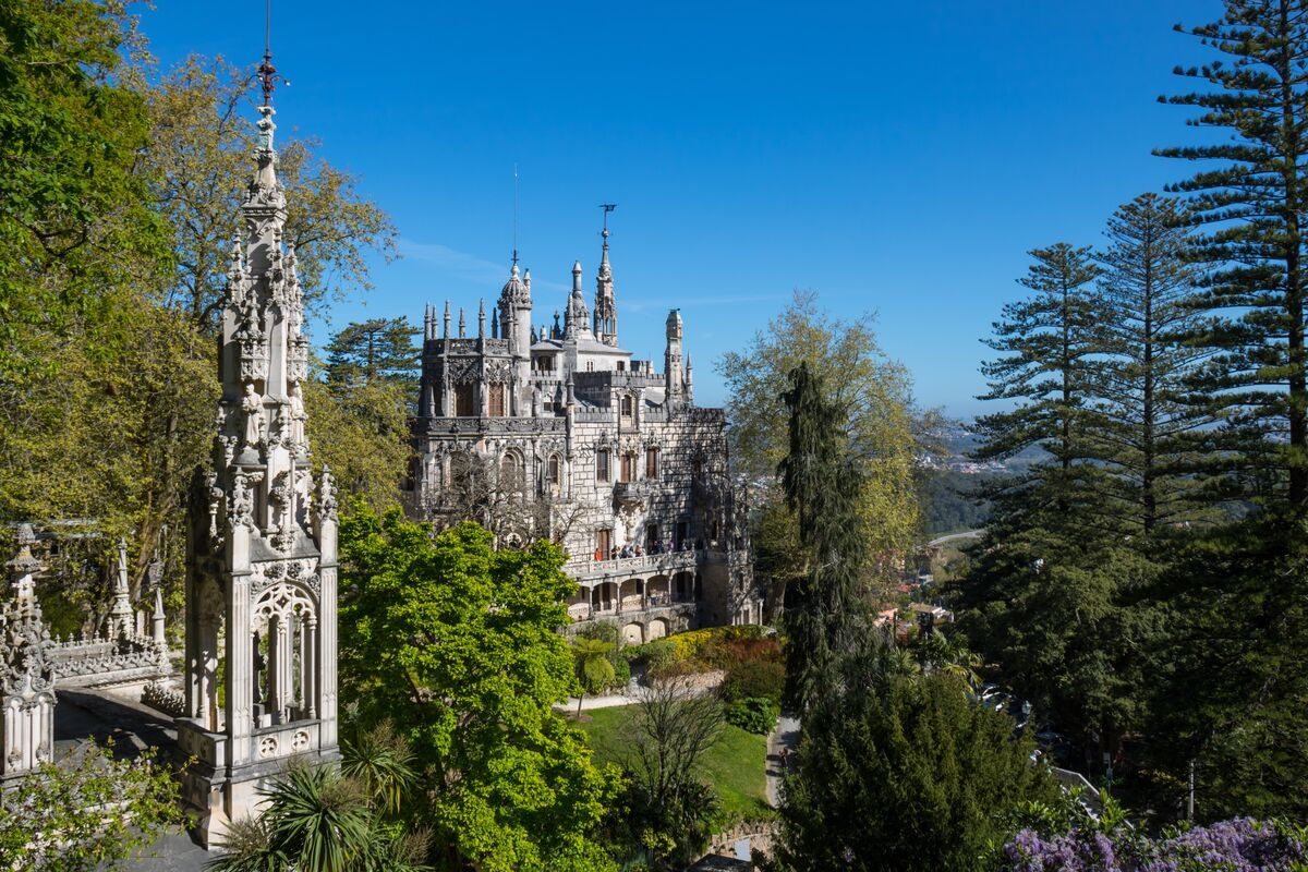 Quinta da Regaleira, Sintra, Portugal, 2017. Photo by Susanne Nilsson, via Flickr.