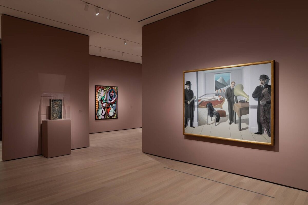 "Installation view of ""Surrealist Objects,"" in Gallery 517, at The Museum of Modern Art, New York. Photo by Jonathan Muzikar. © 2019 The Museum of Modern Art, New York."