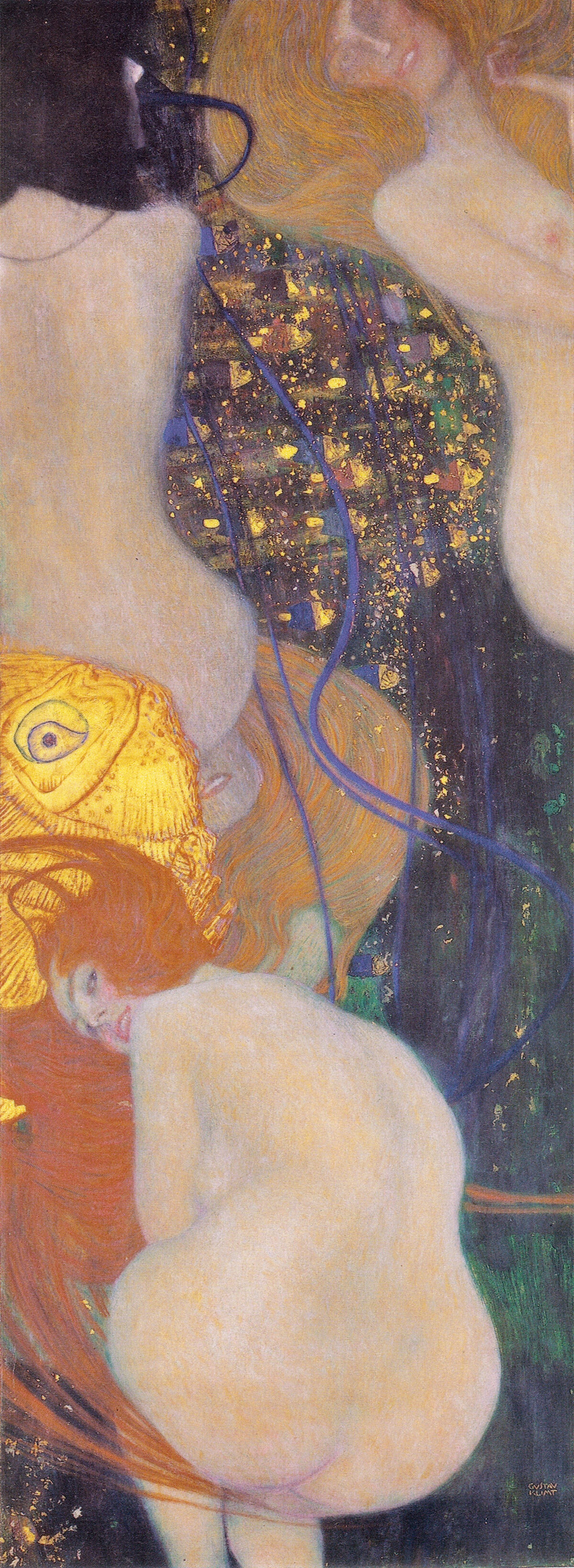 Gustav Klimt, Goldfish, 1901–02. Image via Wikimedia Commons.